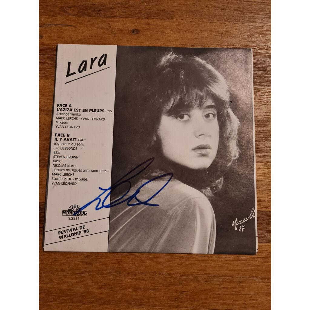Lara ( Lara Fabian ) L'aziza est en pleurs / Il y avait