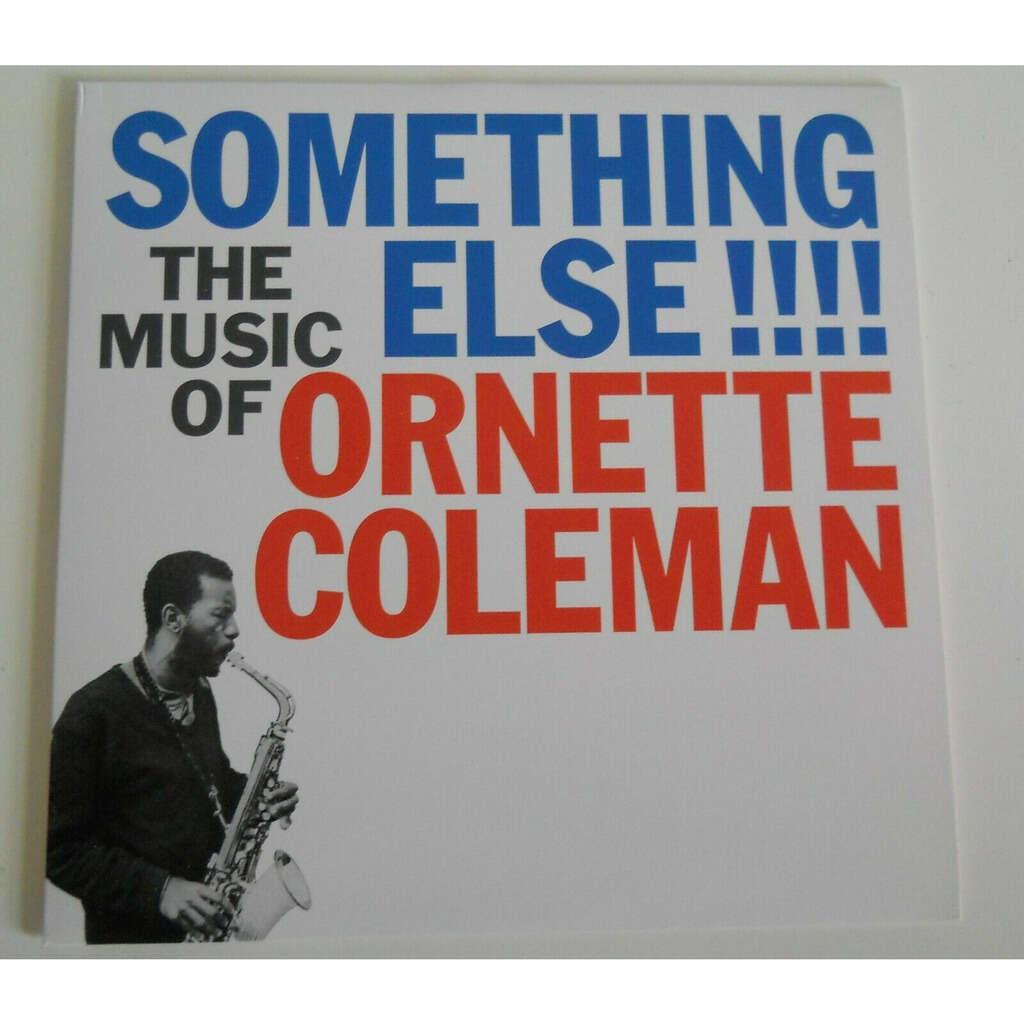 Ornette Coleman Don Cherry Walter Norris Higgins . Something Else!!!!