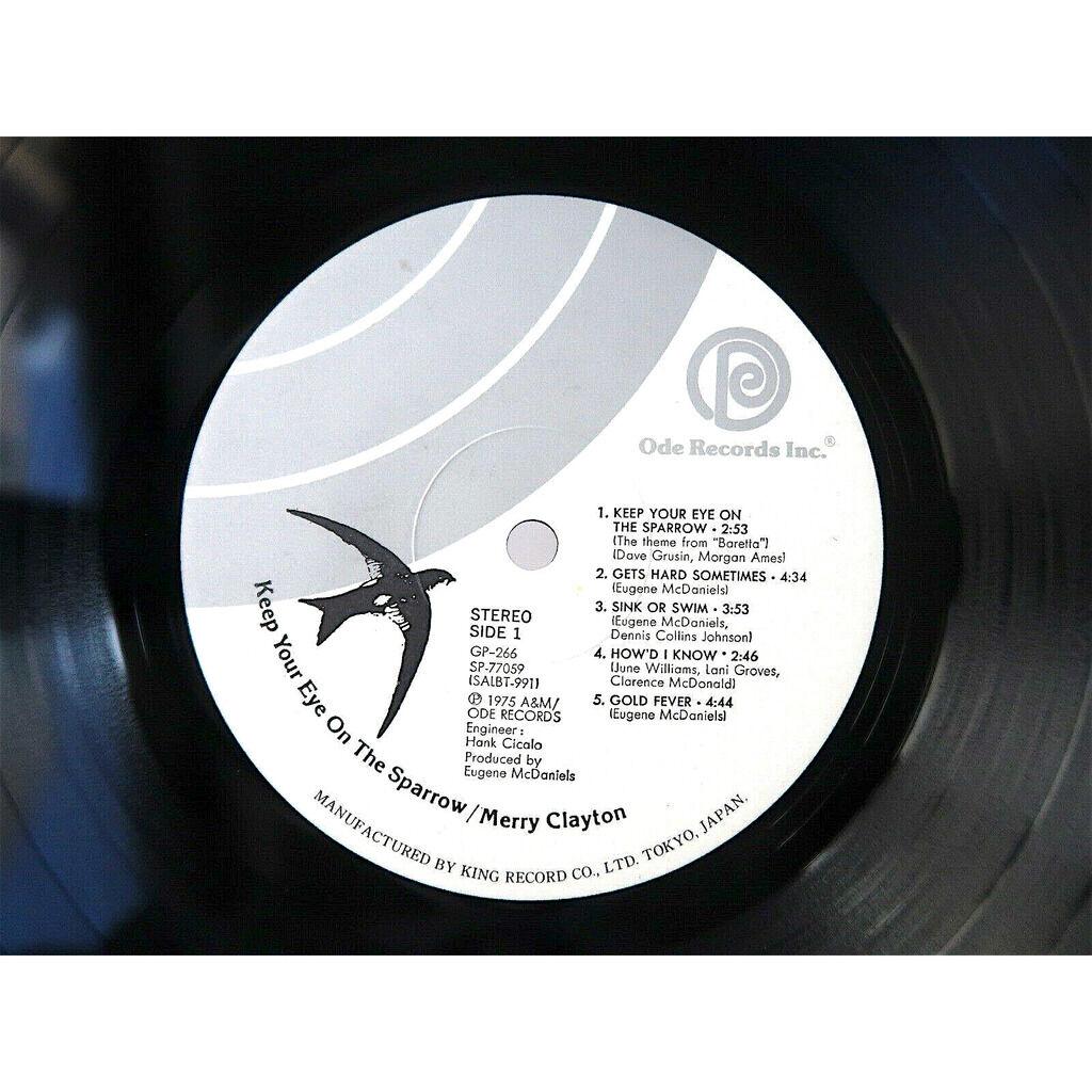 Merry Clayton Eugene McDaniels Idris Muhammad Joe Keep Your Eye On The Sparrow