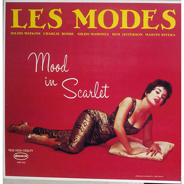 Jazz Modes Charlie Rouse Eileen Gilbert G. Mahones Les Modes - Mood In Scarlet