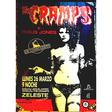 the cramps zeleste orig. massive subway concert poster 1991