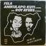 FELA ANIKULAPO KUTI & ROY AYERS - Music of many colours - 33T