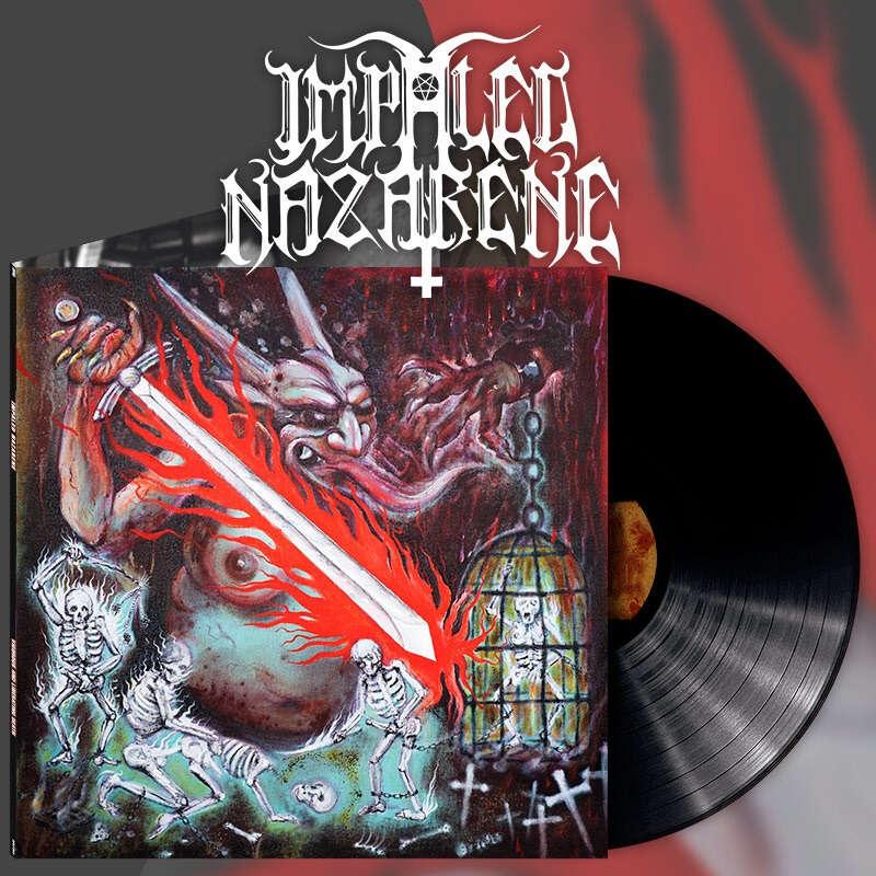IMPALED NAZARENE Vigorous And Liberating Death. Black Vinyl