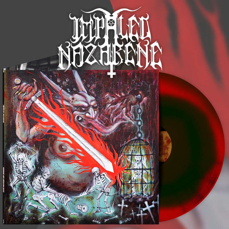 IMPALED NAZARENE Vigorous And Liberating Death. Swirl Vinyl