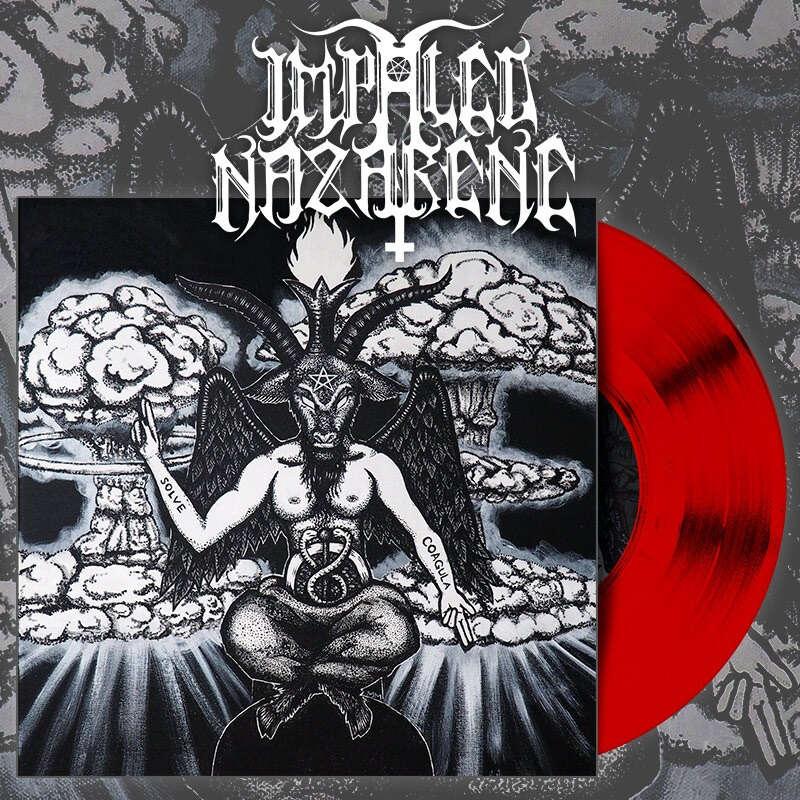 IMPALED NAZARENE Goat of Mendes. Red Vinyl