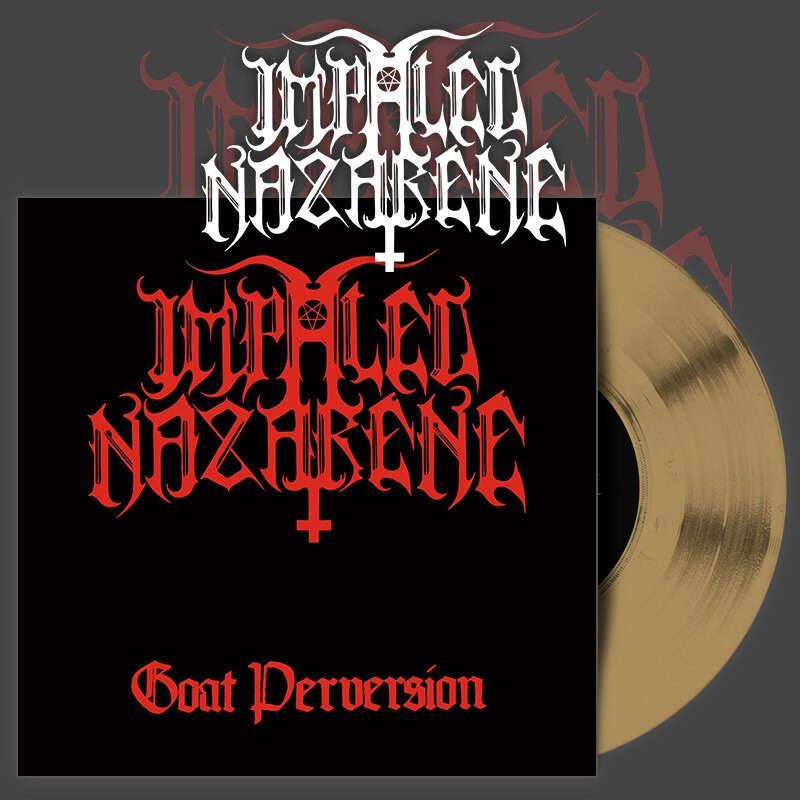 IMPALED NAZARENE Goat Perversion. Gold Vinyl