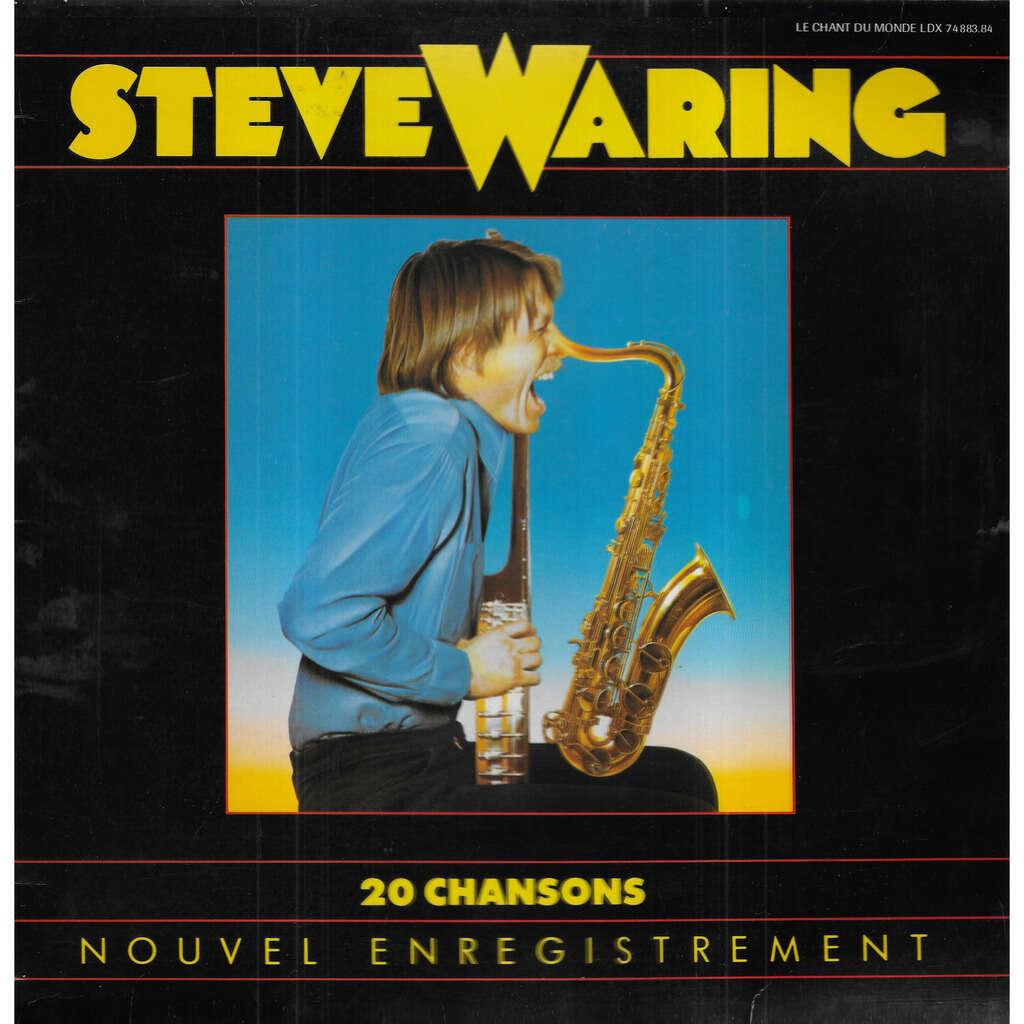 Steve WARING 20 Chansons - Nouvel Enregistrement