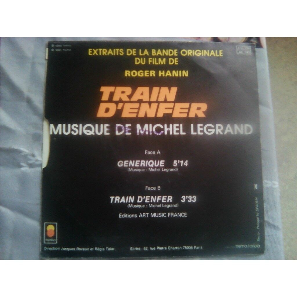 MICHEL LEGRAND train d'enfer.1985.