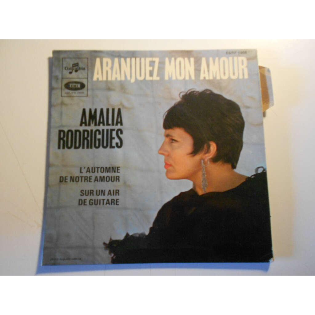 amalia rodrigues ARANJUEZ MON AMOUR § l'automne de notre amour § sur un air de guitare