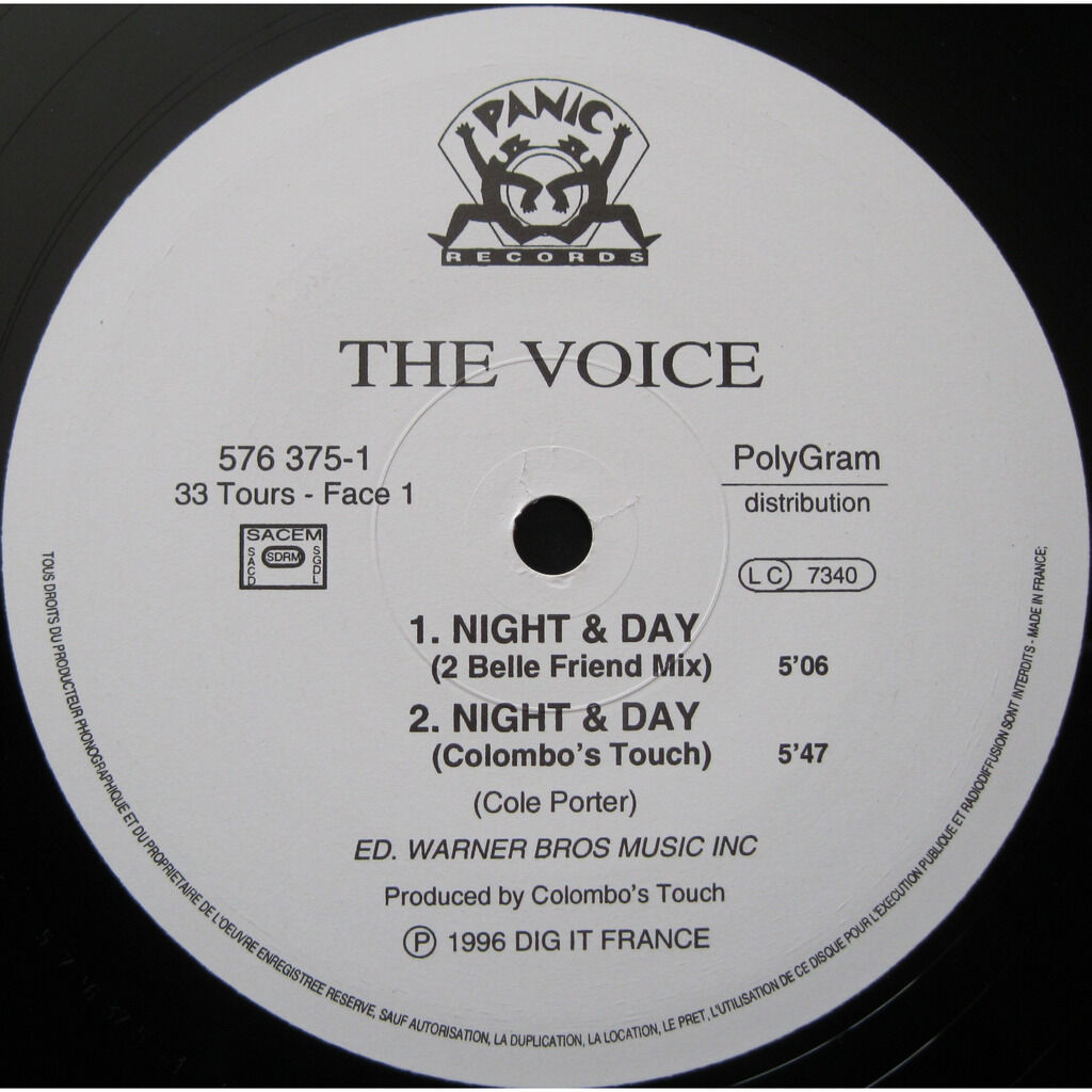 THE Voice Night & Day ( 3 mixes ) / day & night