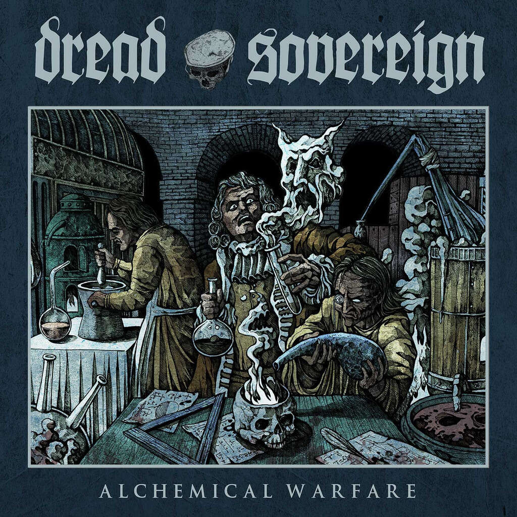 DREAD SOVEREIGN Alchemical Warfare. Splatter Vinyl