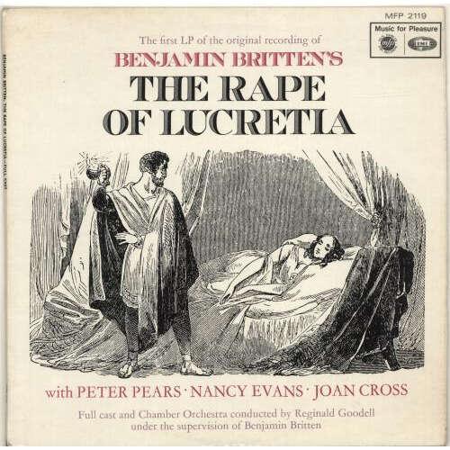 peter pears, nancy evans britten: the rape of lucretia