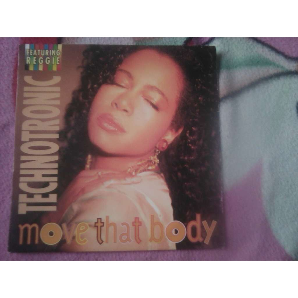 Technotronic Featuring Reggie Move That Body .1991.
