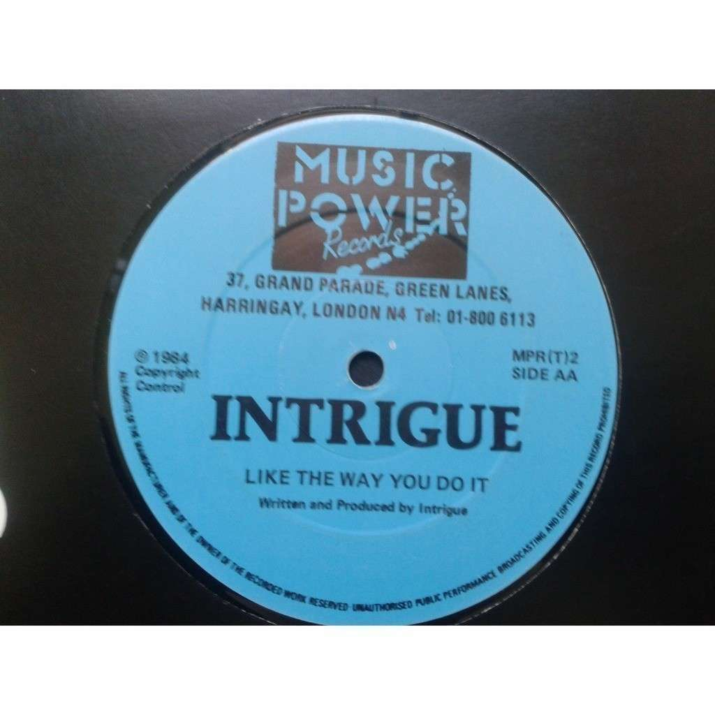 Intrigue Let Sleeping Dogs Lie / Like The Way You Do It.1984.