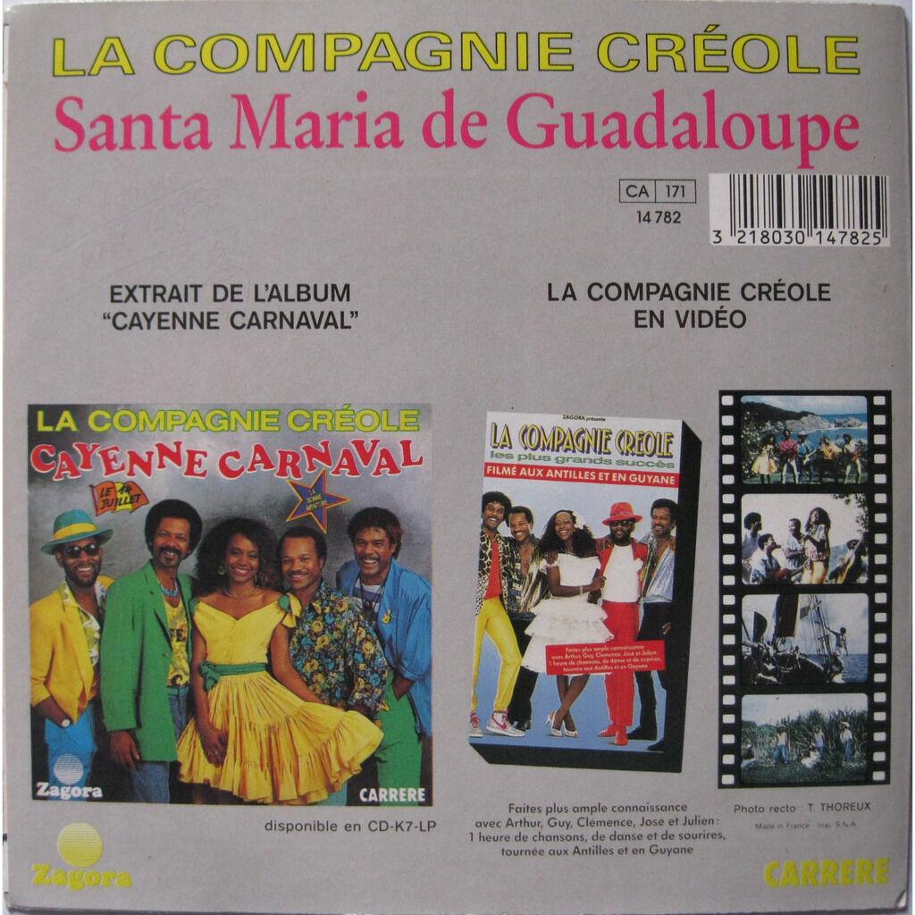 la compagnie créole santa maria de guadeloupe / avec les filles je suis doux