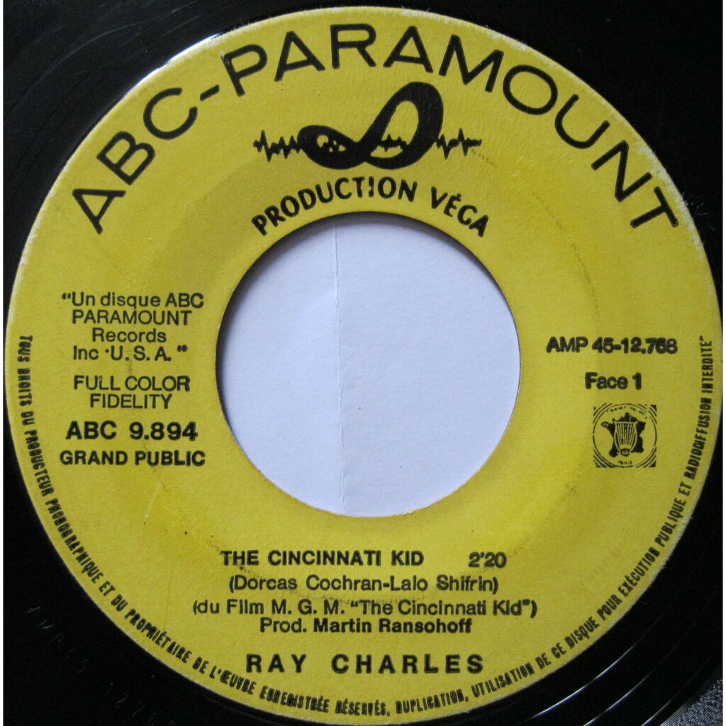 ray charles the cincinnati kid / that's all i am to you