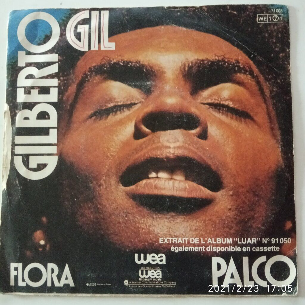 gilberto gil PALCO / FLORA