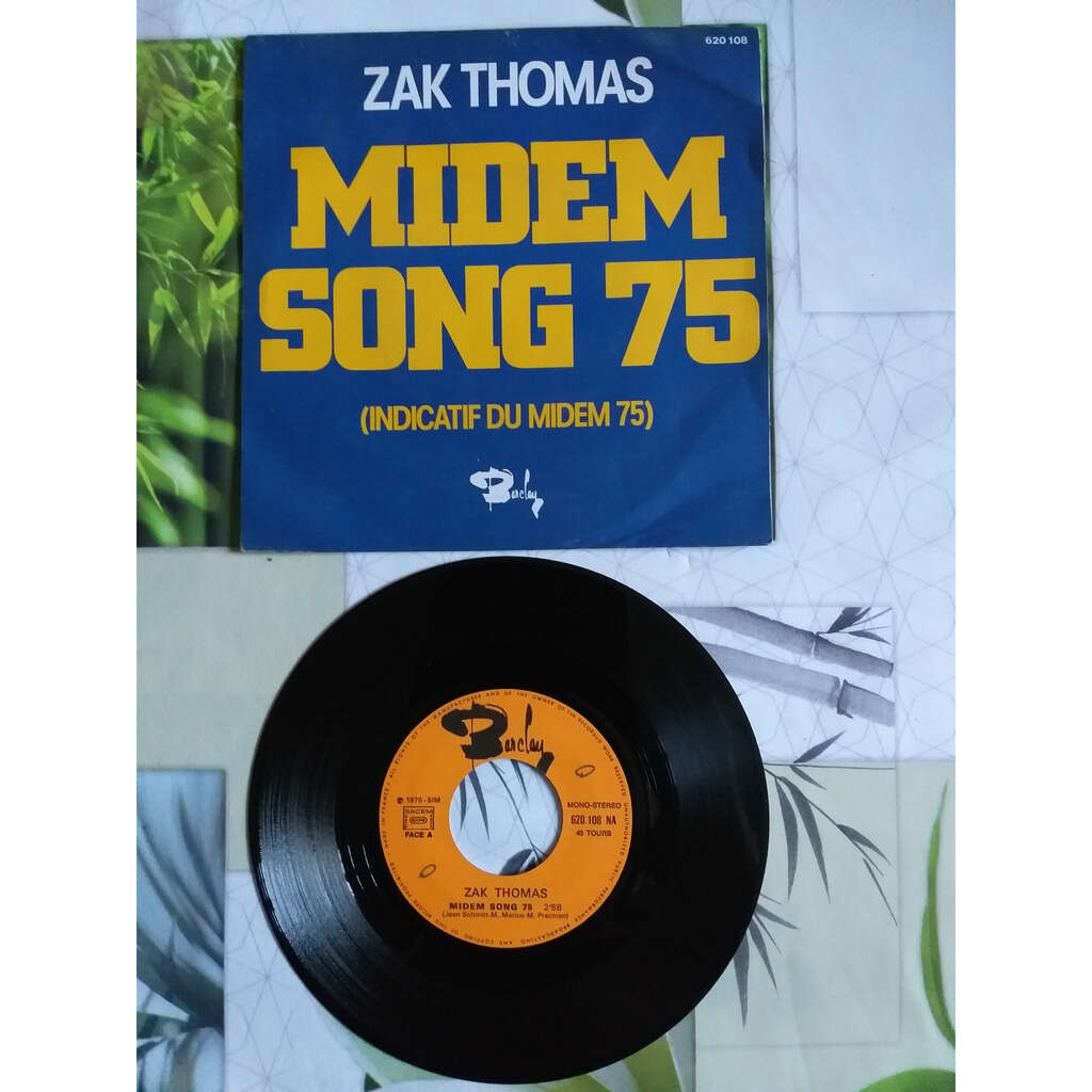 ZAK THOMAS MIDEM SONG 75 - WINTER IN CANNES