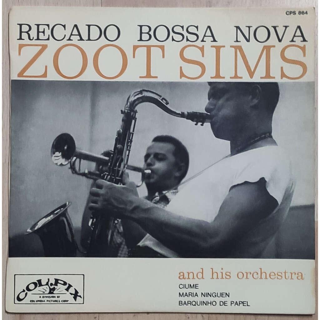 Zoot Sims And His Orchestra Recado Bossa Nova