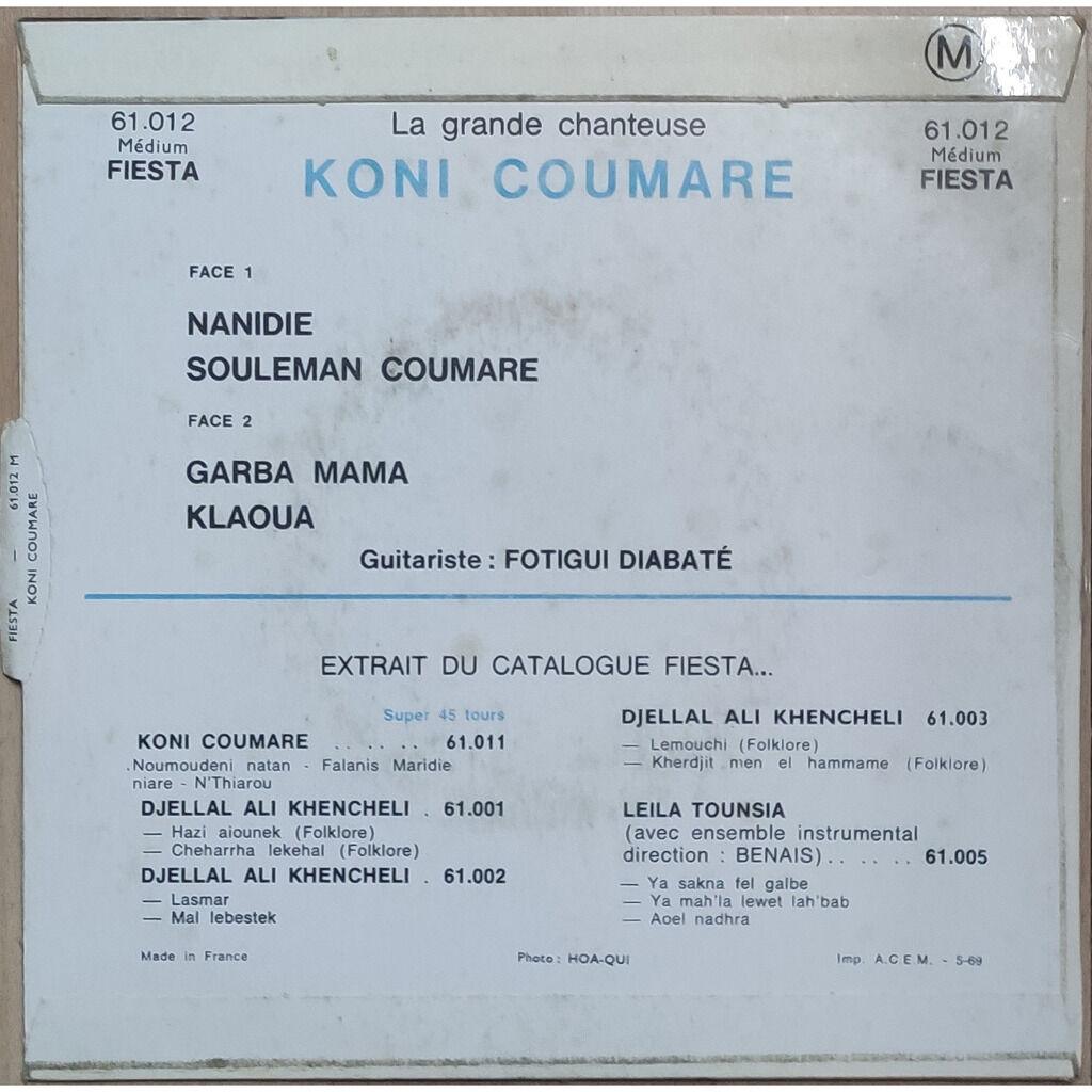 COUMARE , Koni Nanidie / Souleman Coumare / Garba Mama