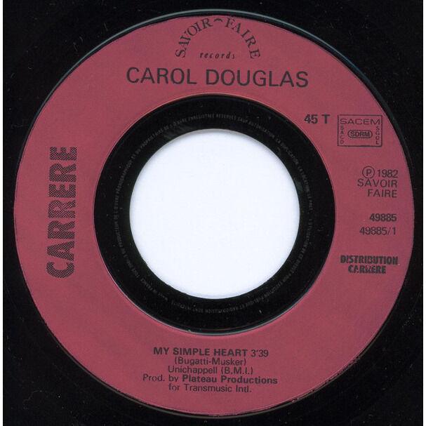 carol douglas my simple heart.1982.