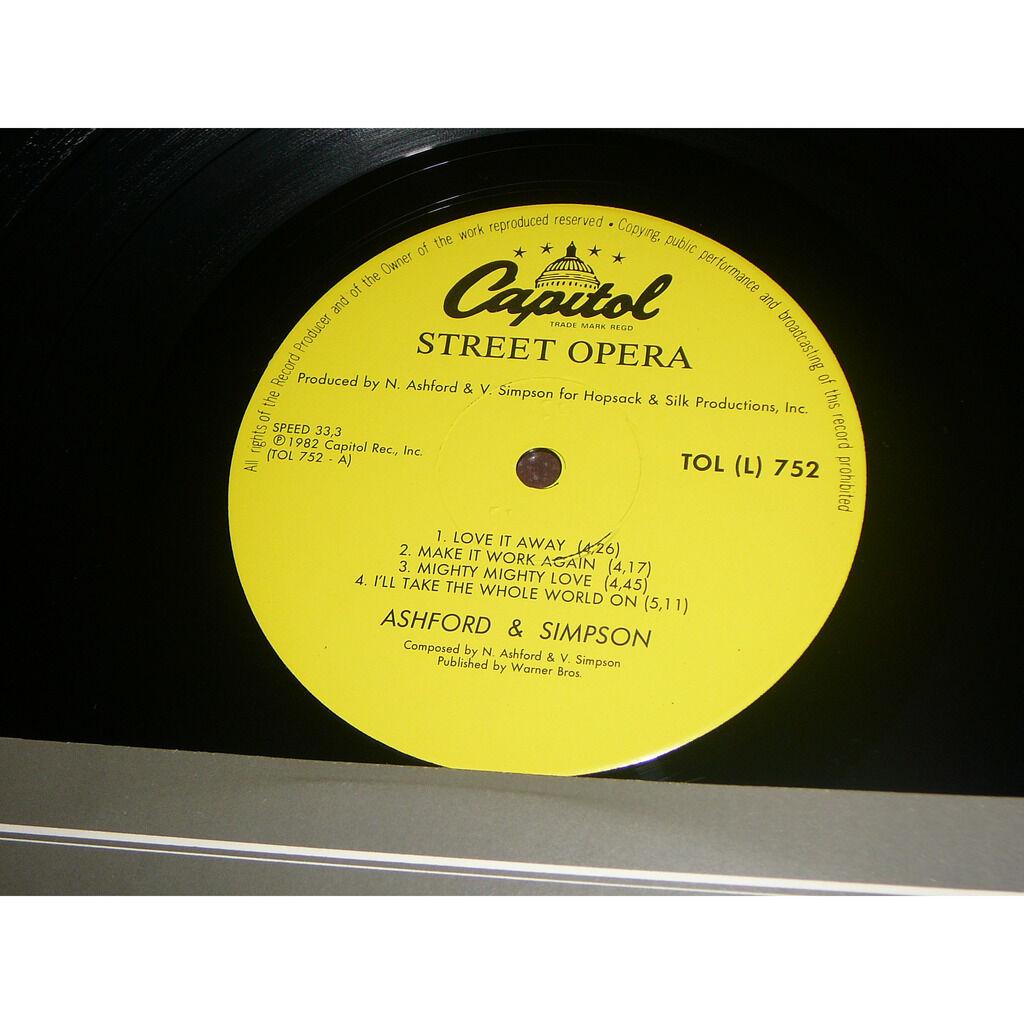 ashford & simpson Street opéra