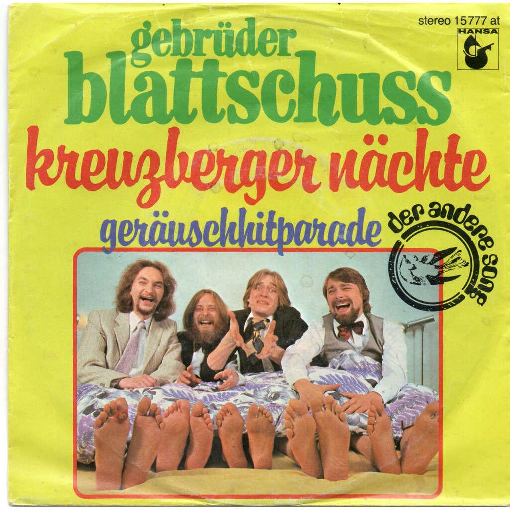 Gebrüder Blattschuss Kreuzberger Nächte / Geräuschhitparade