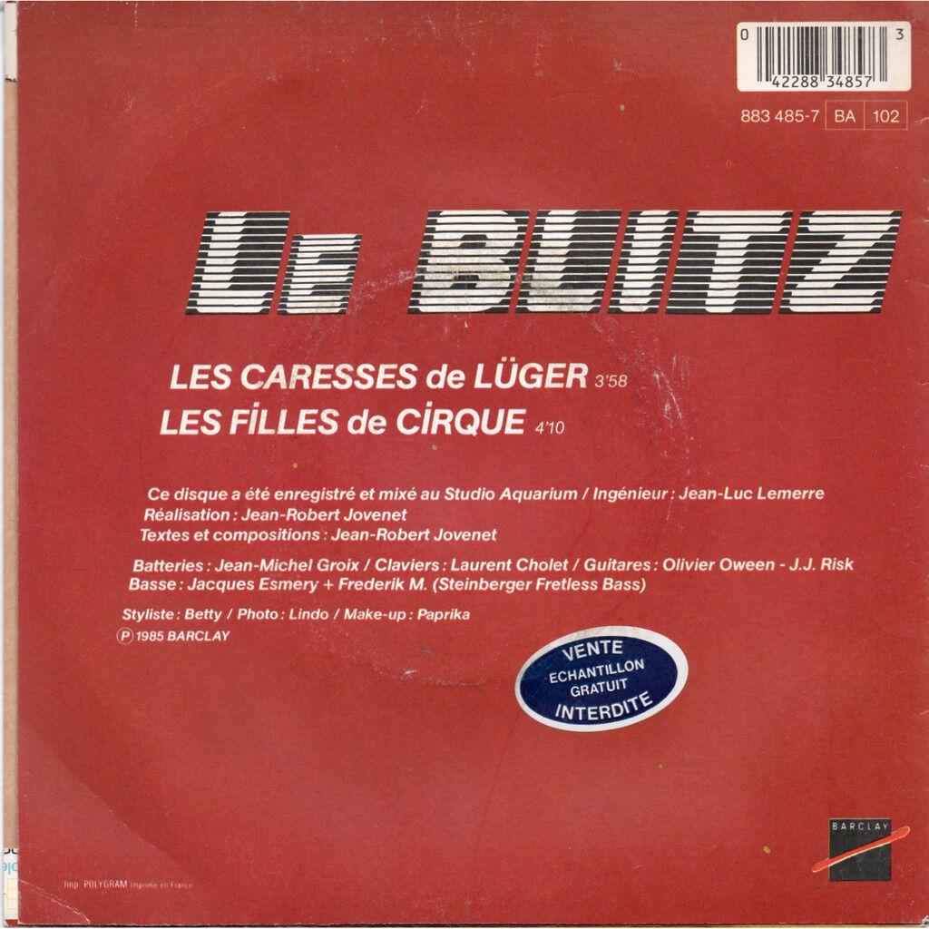 Le Blitz Les Caresses De Lugër / les filles de cirque
