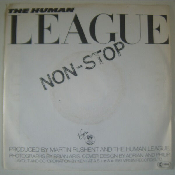 the human league open your heart