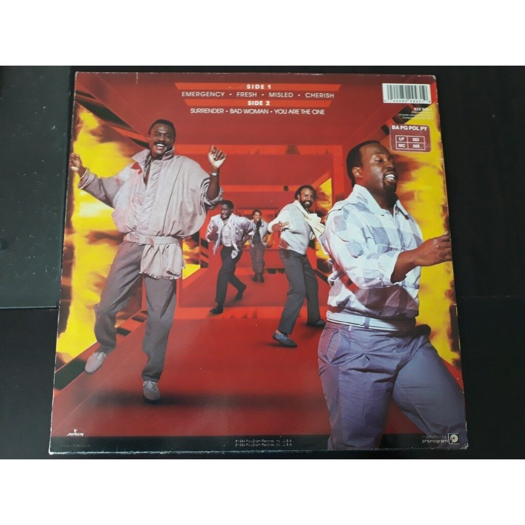 Kool & The Gang Emergency. 1984.