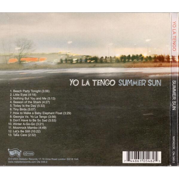 YO LA TENGO SUMMER SUN (Digipak)