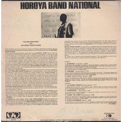 Horoya Band National Savane profonde