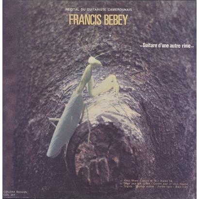Francis Bebey Guitare d'une autre rime