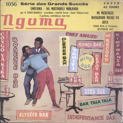 Tenor Mariola, Tenor Beya, Mystérieux Jazz Emiyama cha cha / Merengue