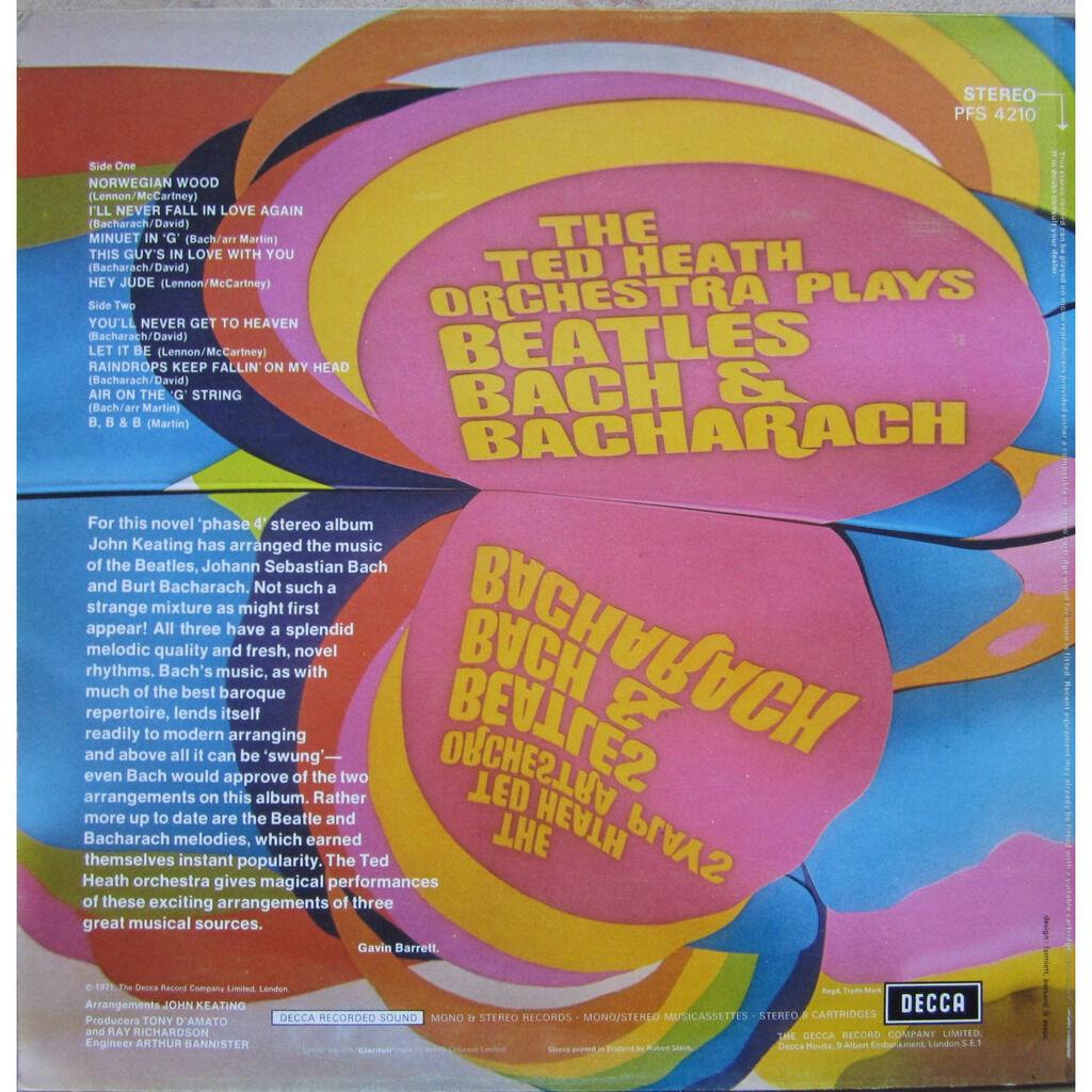 the ted heath orchestra plays beatles, bach & bacharach
