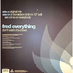 fred everything Don't Want Chu (Now)