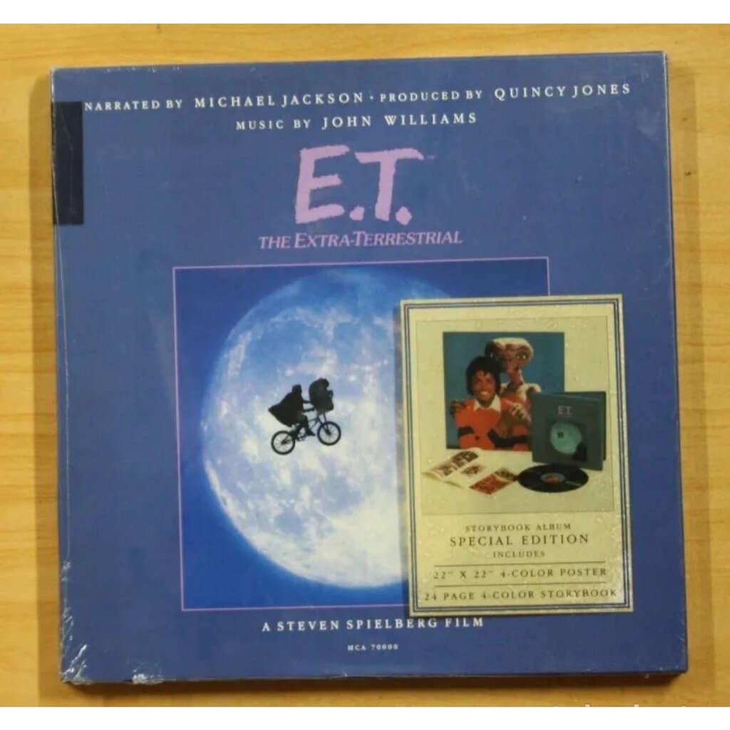 MICHAEL JACKSON/JOHN WILLIAMS E. T. The estra-terrestial
