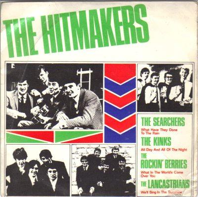 searchers, kinks, rockin' berries, lancastrians the hitmakers vol.3: